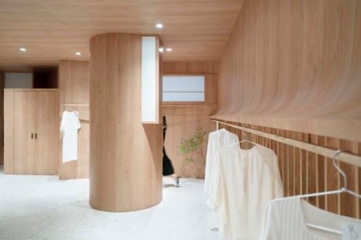 dressing room. Image © Zhipeng Zhou, Huijiao Wang