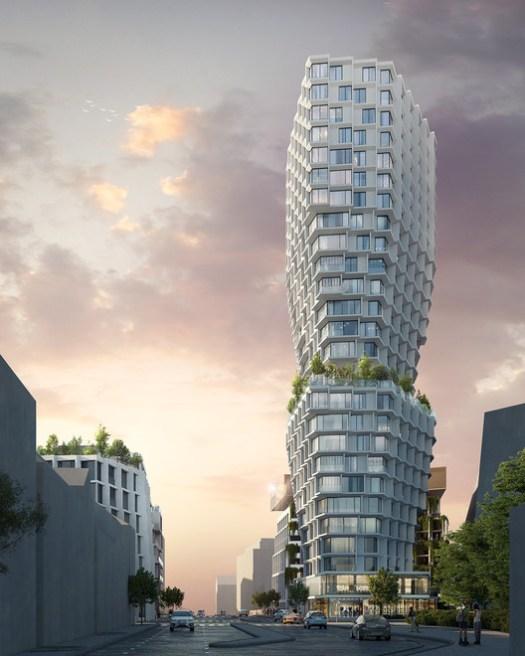 Féval Tower. Image Courtesy of JDS Architects