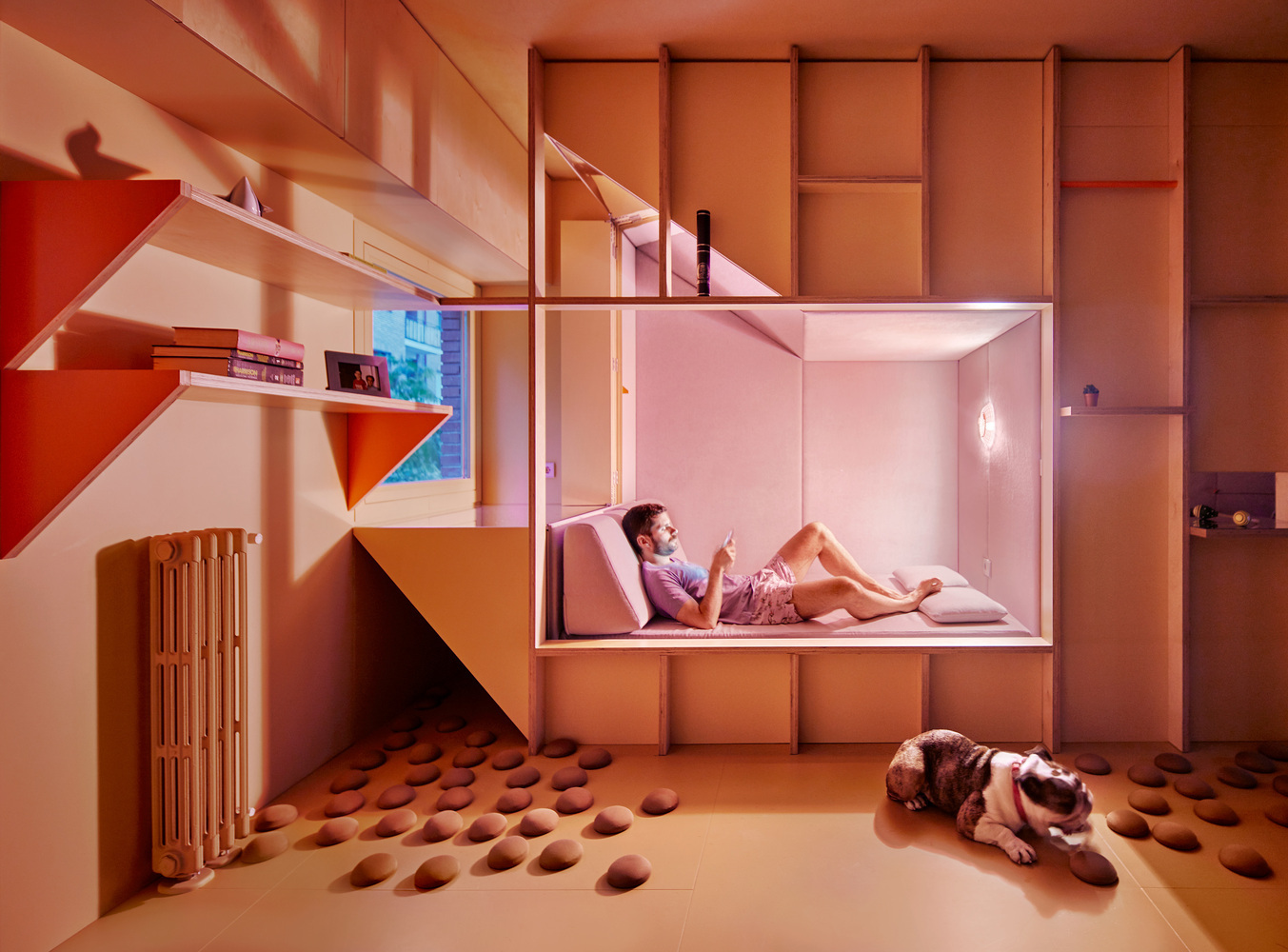 how lighting affects mood archdaily