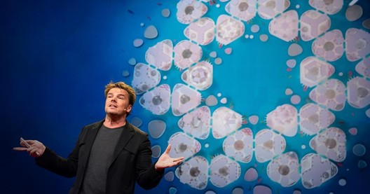Bjarke Ingels at TED. Image © TED