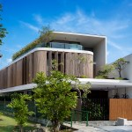Bamboo Veil House Wallflower Architecture Design Archdaily
