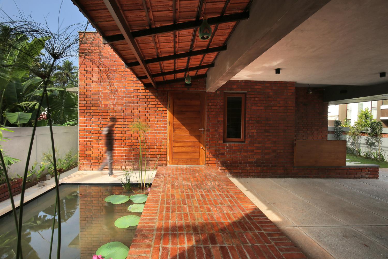 versatility of brick floor archdaily