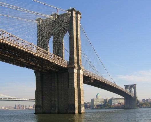 The Brooklyn Bridge. Image via John Roebling