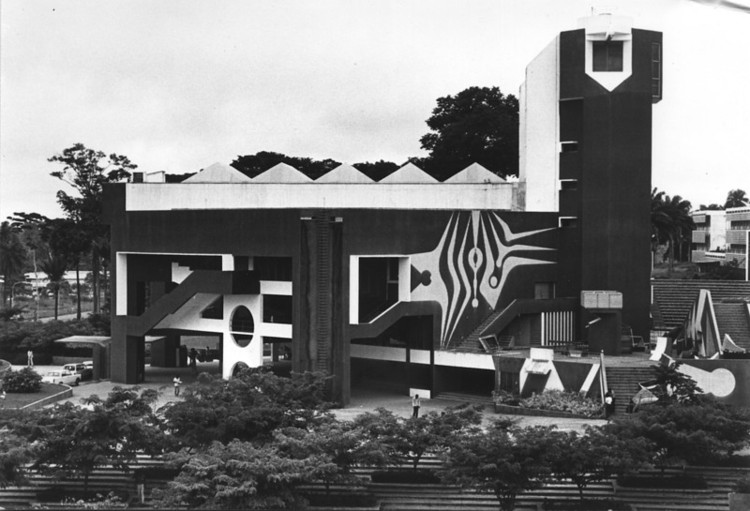 The Assembly Hall 1970 . Image Courtesy of The Arieh Sharon Digital Archive