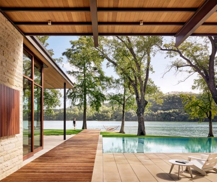 Texas Design: maisons modernistes et Lakehouses d'Austin, © Casey Dunn