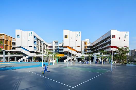 E-shape teaching building. Image © Mingjun Hu