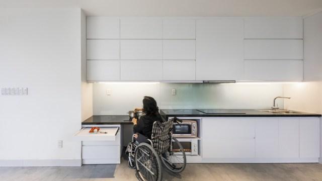 A importância da acessibilidade. Imagem © Hiroyuki Oki