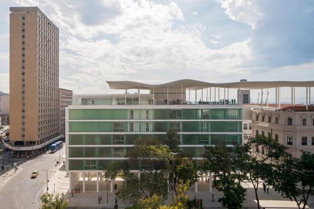 Museu de Arte do Rio. Imagem © Leonardo Finotti