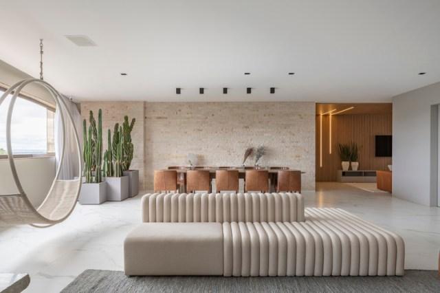 Apartamento FF / Studio 2 Arquitetura e Interiores. Foto © Joana França