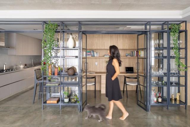 Apartamento Merlot / Clarice Semerene Arquitetura. Foto © Joana França