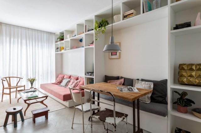 Apartamento São Francisco / Leandro Garcia. Foto ©Fran Parente