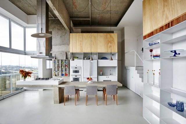 Apartamento JK / Metro Arquitetos Associados. Foto ©Ilana Bessler