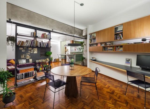 Apartamento Curvas / Estúdio Lava. Foto ©Rafaela Netto