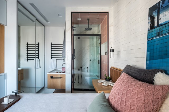 Apartamento VA / ZALC Arquitetura. Foto ©Nathalie Artaxo