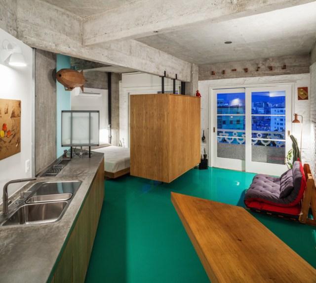 Apartamento Viadutos / Vão. Foto ©Rafaela Netto