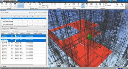 Autodesk Navisworks Manage. Image Cortesía de GoPillar Academy