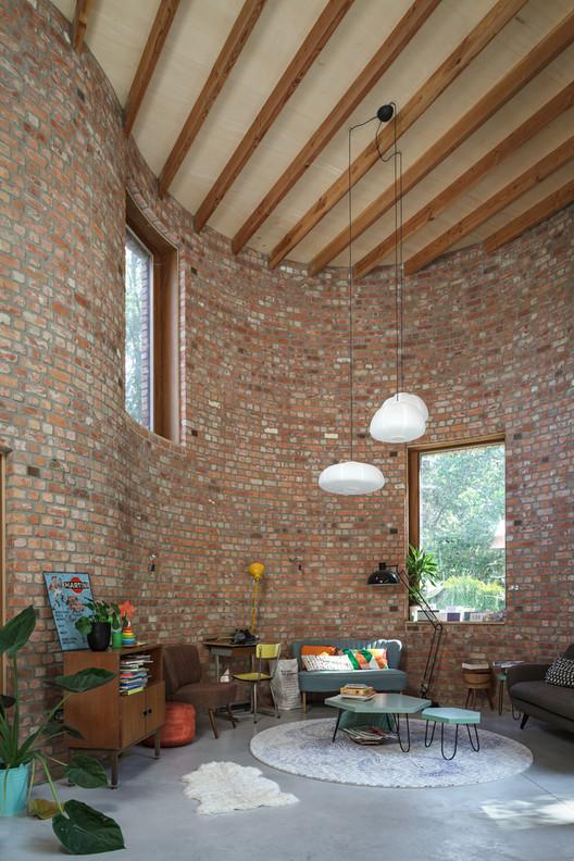 gjG House / BLAF Architecten. Image © Stijn Bollaert
