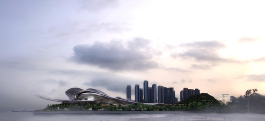 Courtesy of International Architectural Design Competition for Shenzhen Opera House