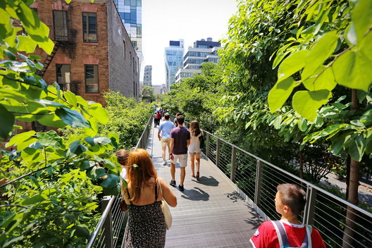 The Kaplan Fund made the first grant to the now-successful High Line project in New York City. Image © MikeDotta | Shutterstock