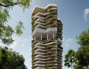 PLP Architecture reveals design for housing development in Singapore