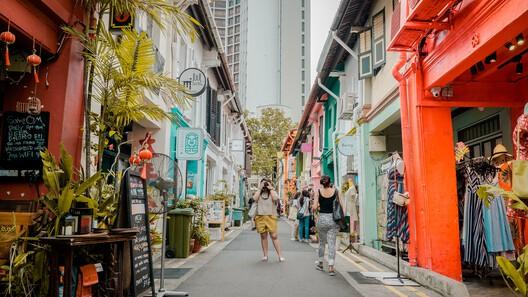 Haji Lane, Singapore. Photograph by Bna Ignacio, via Unsplash