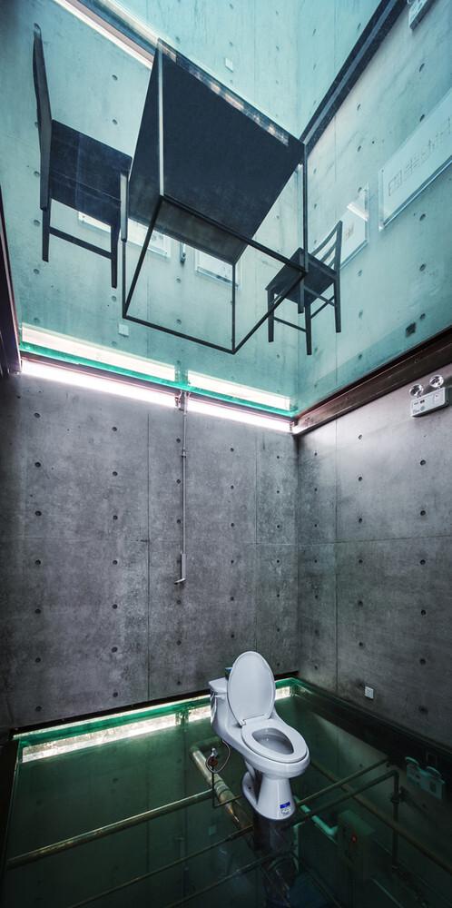 Vertical Glass House / Atelier FCJZ. Image Cortesia de Atelier FCJZ