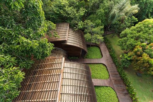 Mirante do Gavião Amazon Lodge / Atelier O'Reilly. Photo: Jean Dallazem