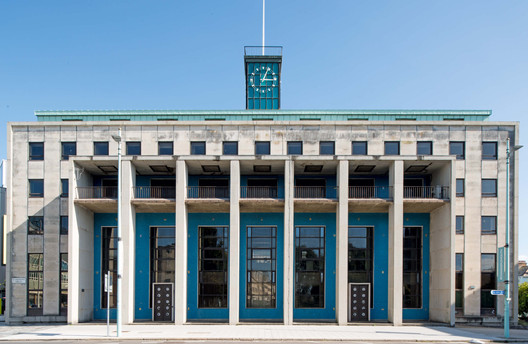 The National Provincial Bank in Plymouth, Southwest England, completed in 1959 and designed by the bank's architecture department with BC Sherren serving as chief architect. . Image Courtesy of Elain Harwood