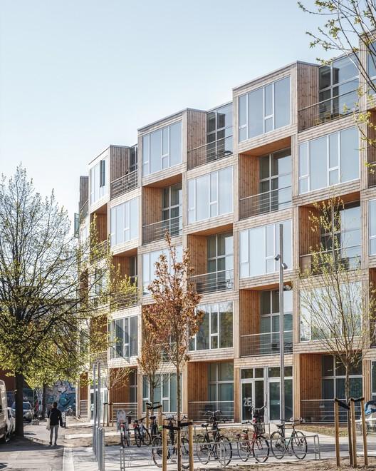 Casas para todos - Dortheavej Residence / Bjarke Ingels Group. Image © Rasmus Hjortshøj