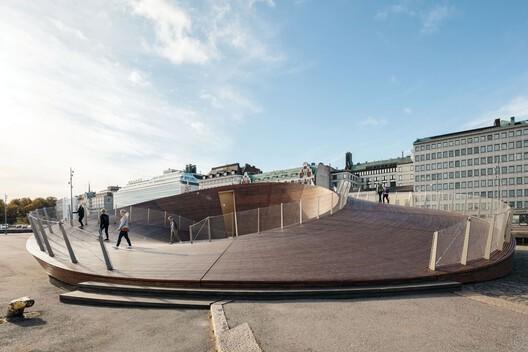 Helsinki Biennial Pavilion by Verstas Architects. Image © Tuomas Uusheimo
