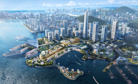 Shenzhen Prince Bay in collaboration with OMA as Design Architect. Image © Ronald Lu & Partners