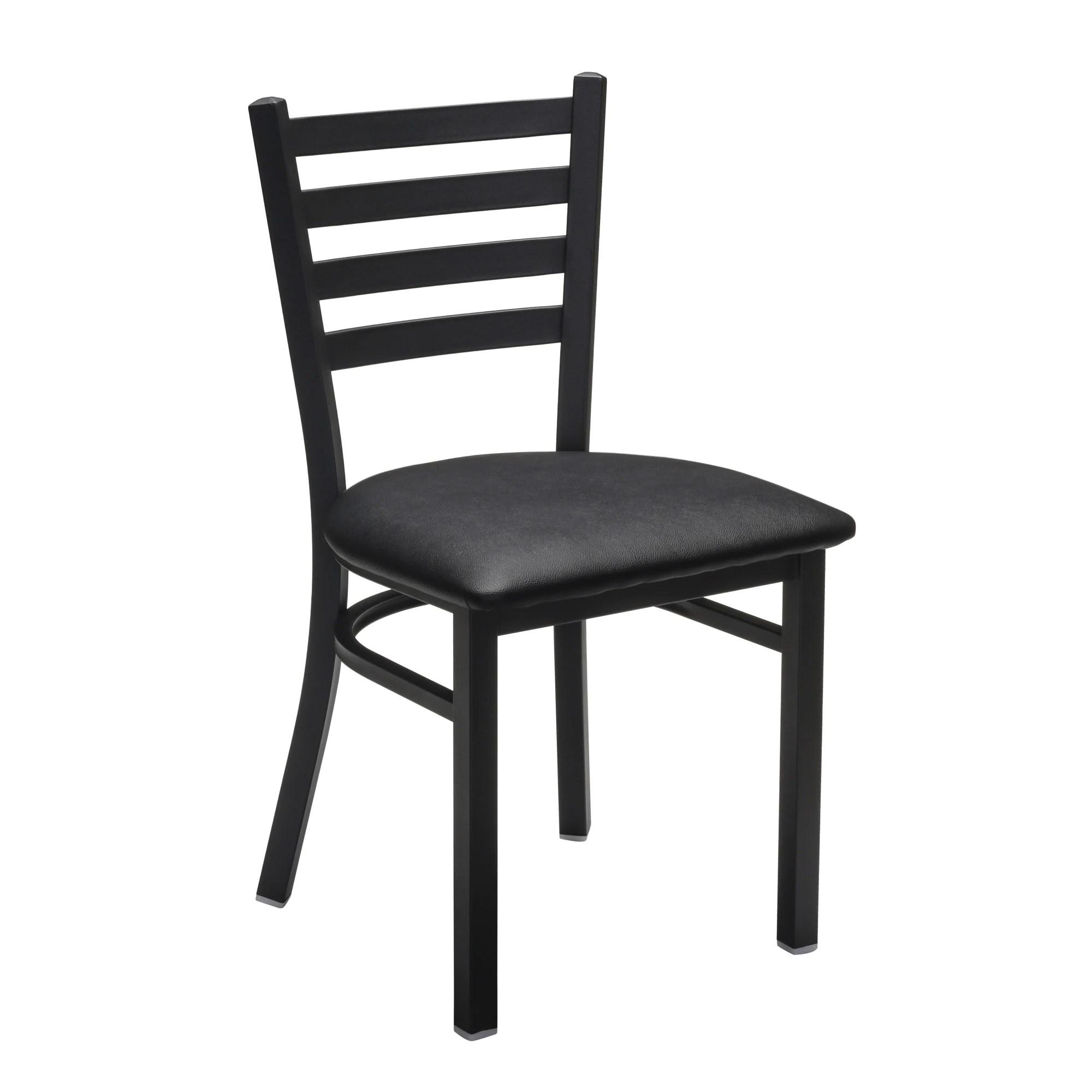 Metal Ladder Back Chair