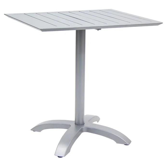 aluminum patio table set