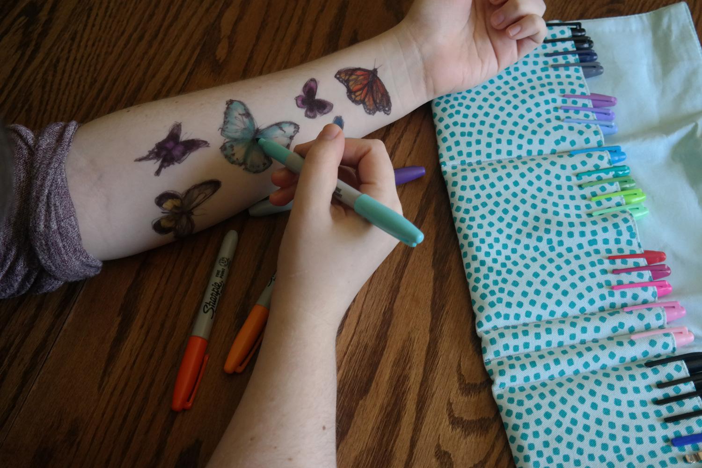 Self Harm Drawings Cut