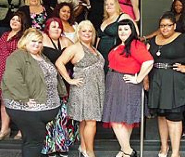 At  Pounds And Wearing A Size  Dress Kristie Doesnt Look Like A Conventional Beauty Queen But Thanks To The Miss Big Beautiful Woman Bbw