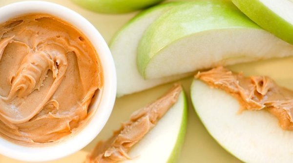 apple peanut butter pre-workout snack
