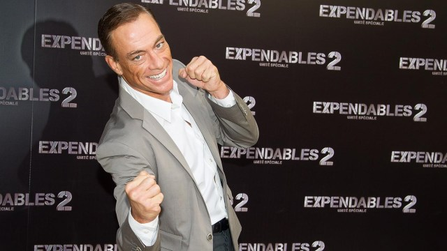 Jean-Claude Van Damme who lives with bipolar disorder
