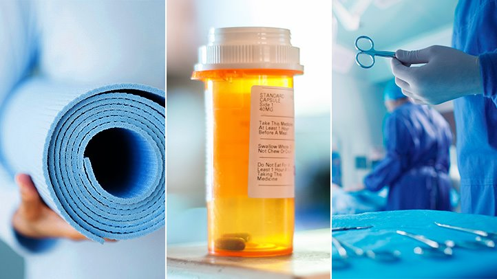 Surgery, medications, and alternative therapies all help alleviate Crohn's symptoms.