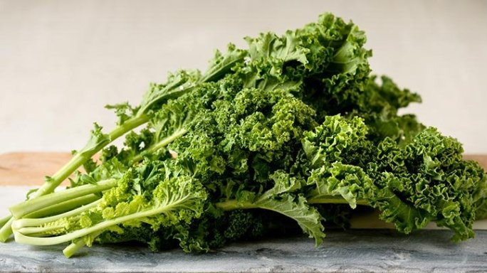 kale, which is beneficial for people with diabetes