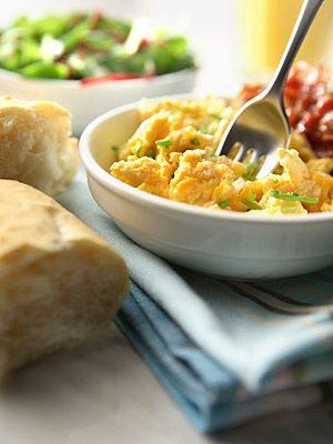 egg and bean scramble