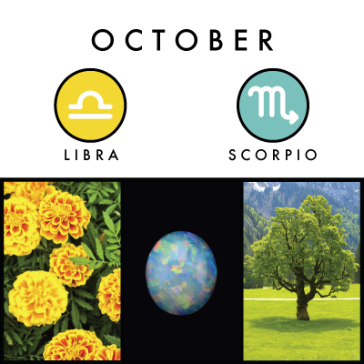 A Little About October Birth Symbols Witches Of The Craft 174
