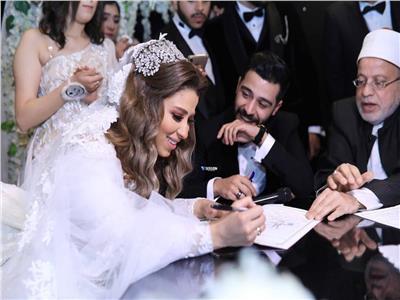 Ahmed Kamel celebrates his marriage