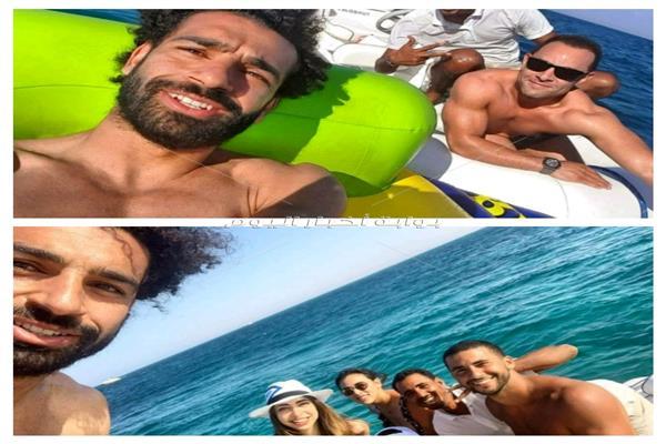 محمد صلاح يزور جزيرة الجيفتون