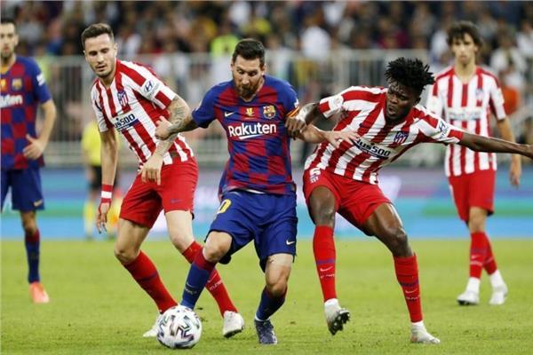 بث مباشر | مشاهدة مباراة برشلونة وأتلتيكو مدريد