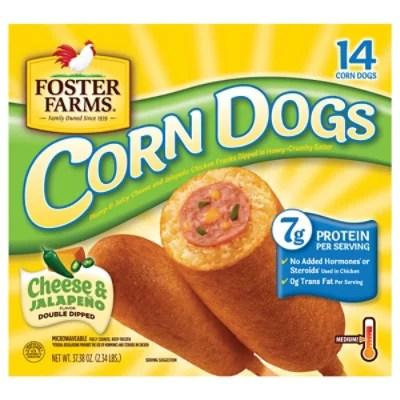 foster farms corn dog cheese jalapeno 37 38 oz