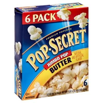 pop secret microwave popcorn premium