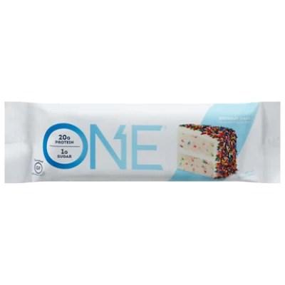 Oh Yeah Protein Bar One 1g Sugar Birthday Cake 2 12 Oz Safeway