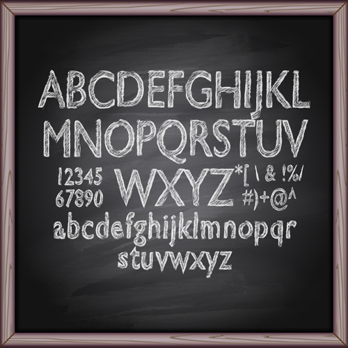 Chalkboard Ornament Fonts