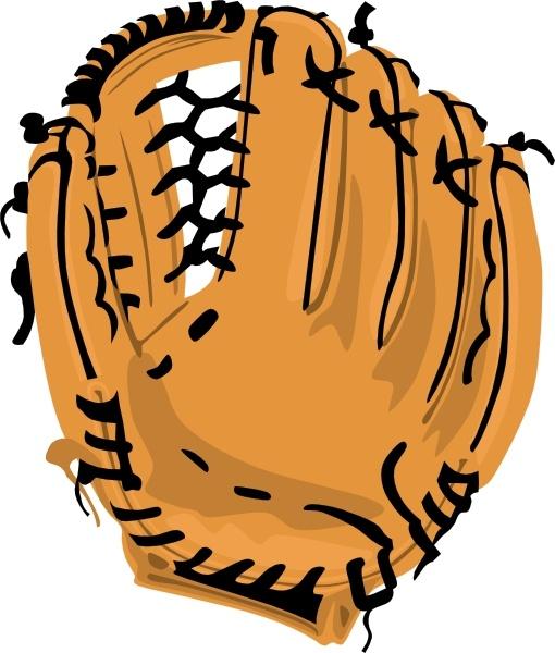 Baseball Glove Clip Art Free Vector In Open Office Drawing Svg Svg Vector Illustration Graphic Art Design Format Format For Free Download 235 14kb