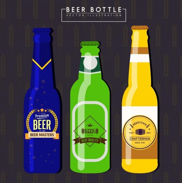 Download Free vector beer bottles free vector download (1,730 Free ...